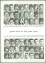 1966 High Point High School Yearbook Page 186 & 187