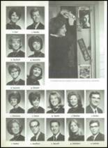 1966 High Point High School Yearbook Page 208 & 209