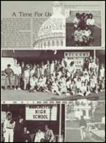 1985 Manchester High School Yearbook Page 28 & 29