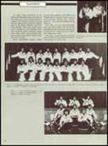 1985 Manchester High School Yearbook Page 42 & 43