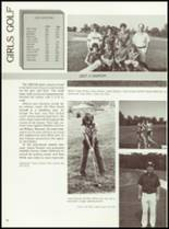 1985 Manchester High School Yearbook Page 54 & 55