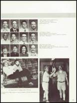 1985 Manchester High School Yearbook Page 126 & 127