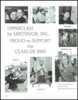 2003 Edwin O. Smith High School Yearbook Page 180 & 181