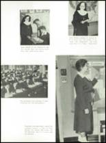 1957 St. Benedict High School Yearbook Page 16 & 17