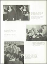 1957 St. Benedict High School Yearbook Page 20 & 21