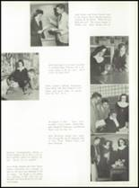 1957 St. Benedict High School Yearbook Page 24 & 25