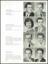 1957 St. Benedict High School Yearbook Page 34 & 35