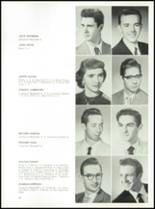1957 St. Benedict High School Yearbook Page 38 & 39