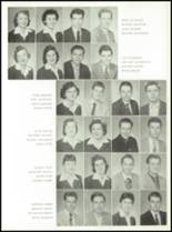 1957 St. Benedict High School Yearbook Page 56 & 57