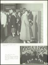 1957 St. Benedict High School Yearbook Page 70 & 71