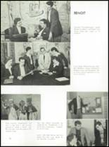 1957 St. Benedict High School Yearbook Page 74 & 75