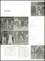 1957 St. Benedict High School Yearbook Page 84 & 85