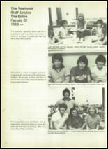1980 Evadale High School Yearbook Page 14 & 15