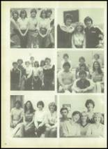 1980 Evadale High School Yearbook Page 22 & 23