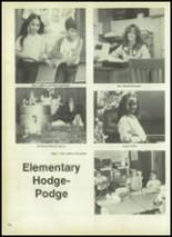 1980 Evadale High School Yearbook Page 110 & 111