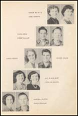 1952 Big Pasture High School Yearbook Page 26 & 27