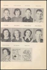 1952 Big Pasture High School Yearbook Page 36 & 37