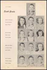 1952 Big Pasture High School Yearbook Page 44 & 45
