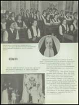 1953 Sacred Heart High School Yearbook Page 20 & 21
