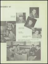 1953 Sacred Heart High School Yearbook Page 30 & 31