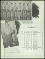 1953 Sacred Heart High School Yearbook Page 36 & 37