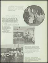 1953 Sacred Heart High School Yearbook Page 44 & 45