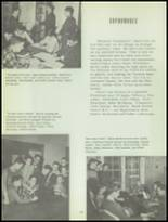 1953 Sacred Heart High School Yearbook Page 46 & 47
