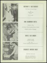 1953 Sacred Heart High School Yearbook Page 80 & 81