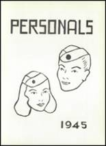 1945 Rogers High School Yearbook Page 26 & 27