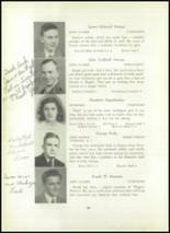 1945 Rogers High School Yearbook Page 54 & 55