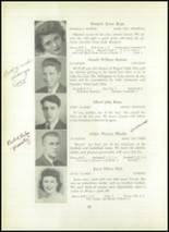 1945 Rogers High School Yearbook Page 56 & 57