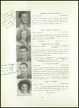 1945 Rogers High School Yearbook Page 62 & 63