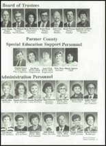1989 Friona High School Yearbook Page 24 & 25