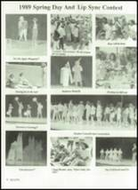 1989 Friona High School Yearbook Page 58 & 59