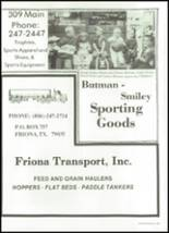 1989 Friona High School Yearbook Page 204 & 205