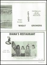 1989 Friona High School Yearbook Page 220 & 221