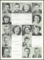 1949 Chowchilla Union High School Yearbook Page 20 & 21