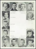 1949 Chowchilla Union High School Yearbook Page 22 & 23