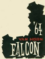 1964 Yearbook Van Horn High School