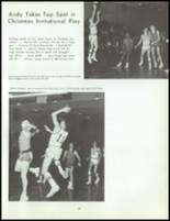1968 Andalusia High School Yearbook Page 132 & 133