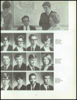 1968 Andalusia High School Yearbook Page 156 & 157