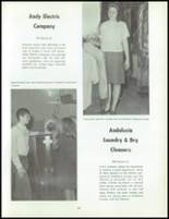 1968 Andalusia High School Yearbook Page 208 & 209