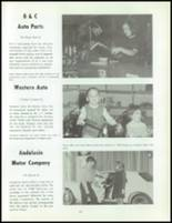 1968 Andalusia High School Yearbook Page 222 & 223