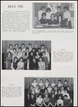 1962 Edison High School Yearbook Page 108 & 109