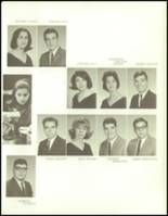 1965 George Washington High School Yearbook Page 122 & 123