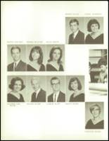 1965 George Washington High School Yearbook Page 124 & 125