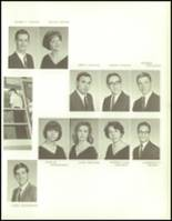 1965 George Washington High School Yearbook Page 134 & 135