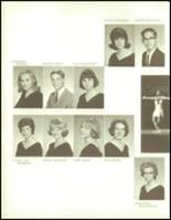 1965 George Washington High School Yearbook Page 244 & 245