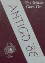 1986 Yearbook Antigo High School