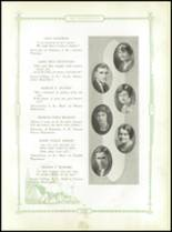1930 Danville High School Yearbook Page 12 & 13